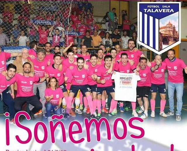 El Soliss FS Talavera quiere que 'Soñemos Juntos' para la temporada 2018-19