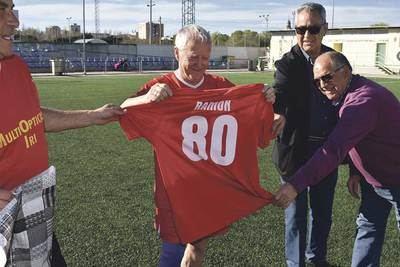 A sus 80 años, Ramón Jiménez no cuelga las botas