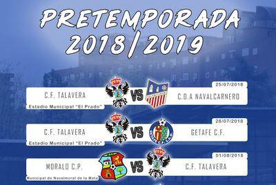 El CF Talavera acaba su partido en tablas ante el Moralo CP