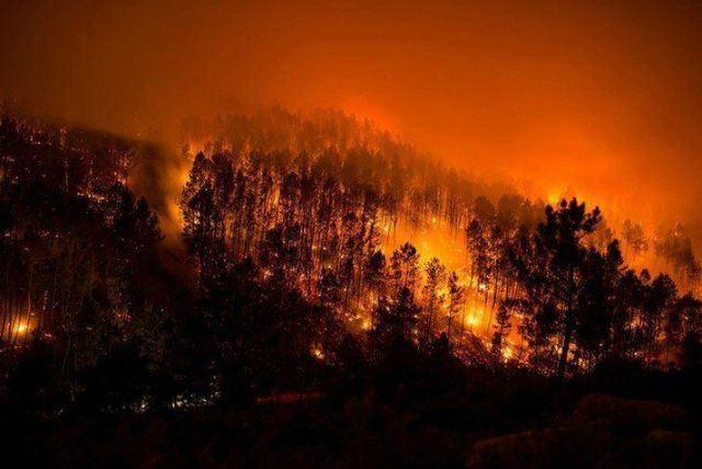 Activada la alerta roja por riesgo extremo de incendio
