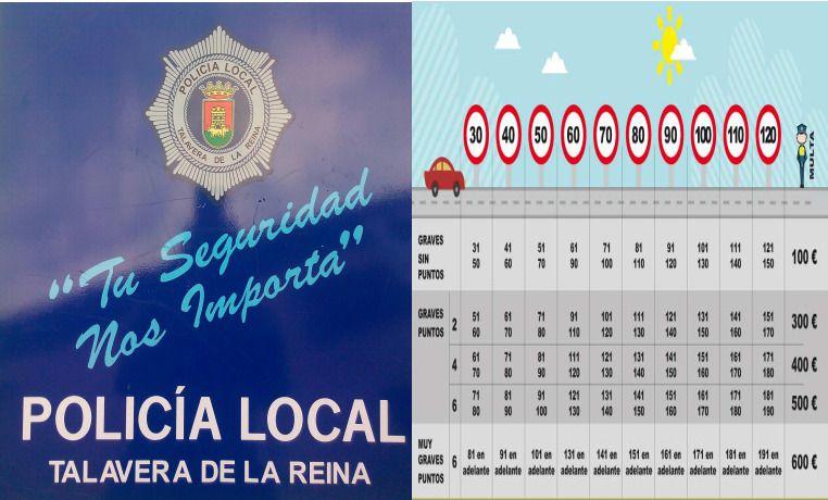 Nueva campaña de control de velocidad en Talavera