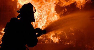 Incendio en el vertedero ilegal de un pueblo de Toledo