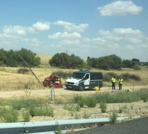 Fallece una mujer en un accidente de tráfico en la A-5