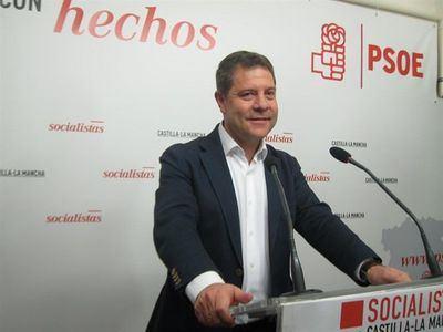 El secretario general del partido y presidente de la región, Emiliano García-Page.