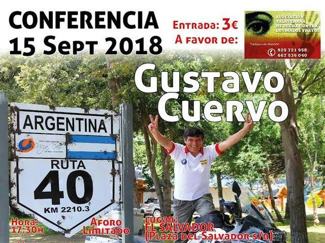 El viajero Gustavo Cuervo acerca la aventura a Talavera