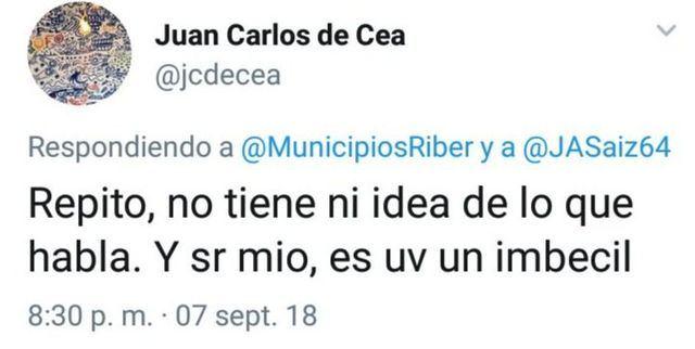 Municipios Ribeños se queja del mal comportamiento del ex presidente de la Confederación Hidrográfica del Tajo