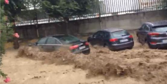 Impresionante vídeo de la riada que ha inundado Cebolla