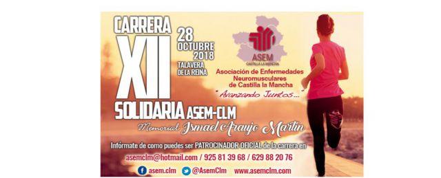 Talavera acoge la XII Carrera Solidaria a beneficio de los enfermos neuromusculares