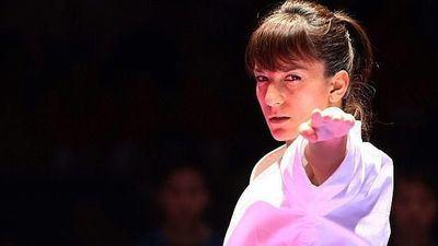 Sandra Sánchez, nada mejor que una medalla de plata para celebrar su cumpleaños