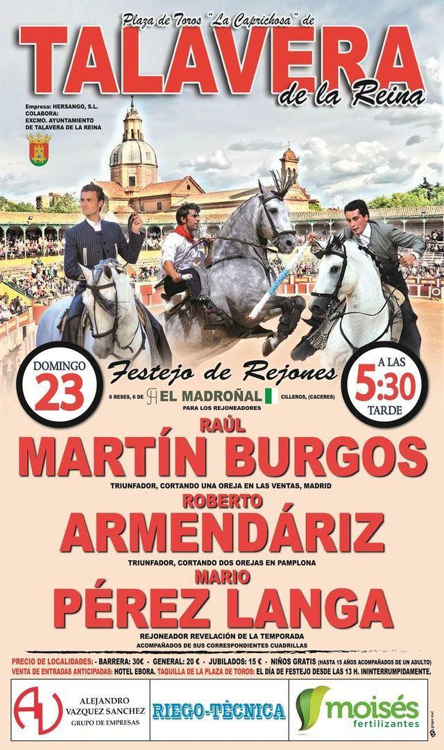 Vuelven los toros a La Caprichosa este domingo en las Ferias de San Mateo