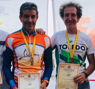 Gregorio Gómez (i) y Pedro Salgado (d)