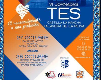 Talavera acoge las 'VI Jornadas TES' organizadas por ATESCAM y Ébora Formación