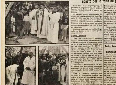 Hace 40 años se bendecía la primera piedra de la 'iglesia redonda'