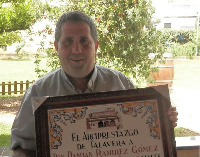 Damián Ramírez Gómez, nuevo arcipreste de Talavera de la Reina