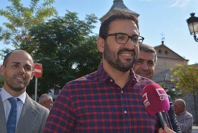 """Gutiérrez: """"Talavera volverá a ser capital en el Debate del Estado de la Región"""""""
