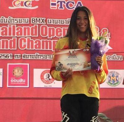 La talaverana Verónica García sube al podio por partida doble en Tailandia