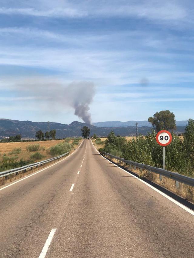 ÚLTIMA HORA | Incendio en la Sierra de San Vicente