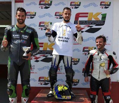 El talaverano Cristian Gutiérrez gana el Campeonato 'Rav Moto Cup Junior' de CyL