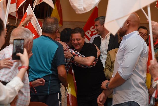"""García-Page invita a los agricultores a que """"cuenten con el PSOE"""" para defender sus intereses en Europa"""