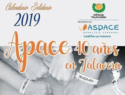 APACE Talavera presenta el calendario solidario de su 40 aniversario
