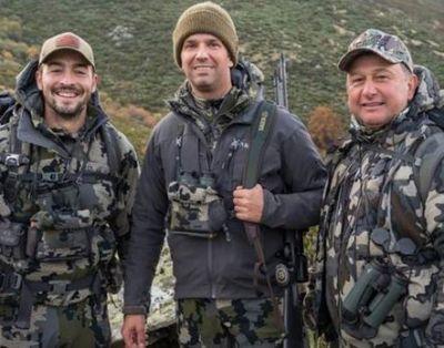 El hijo de Donald Trump, de caza en la Sierra de Gredos