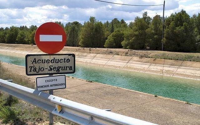 Murcia anuncia un trasvase de 38 hm3 para este mes de diciembre