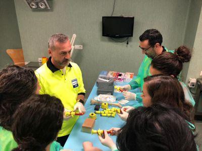 El SESCAM forma a profesionales de Enfermería de Emergencias en el manejo de la vía aérea