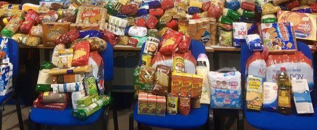 COCEMFE y la AIGT organizan una recogida de alimentos solidaria