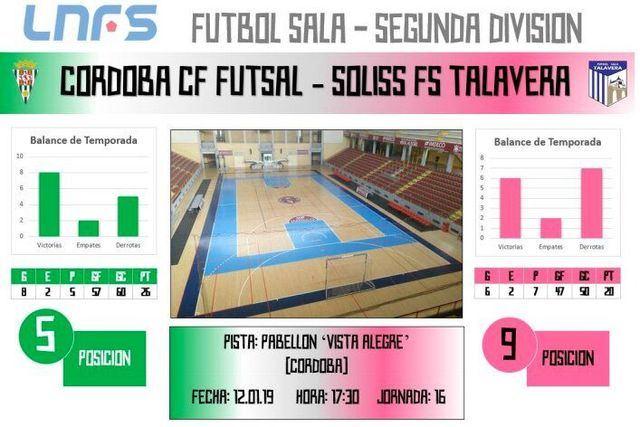 El Soliss FS Talavera tira de portero - jugador para sacar un punto ante Cordoba CF Futsal