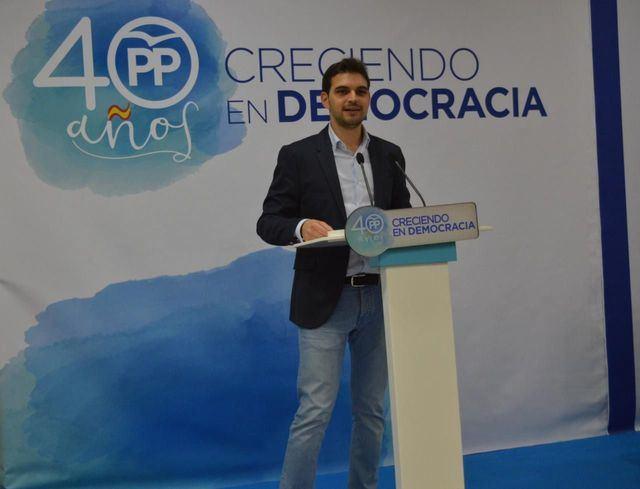 El presidente del PP de Talavera de la Reina, Santiago Serrano.