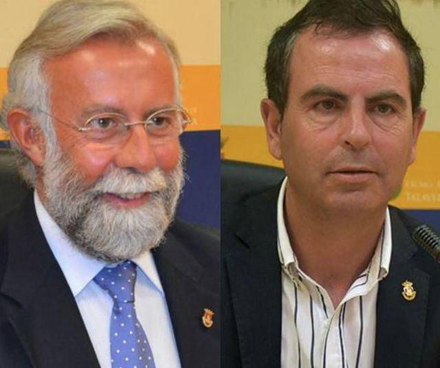 Jaime Ramos (i) y José Gutiérrez (d9