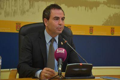 El portavoz del Grupo Municipal Socialista, José Gutiérrez