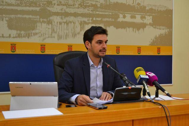 El concejal de Transparencia del Gobierno municipal, Santiago Serrano