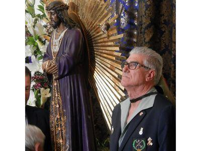 Talavera de nuevo se postró ante el Cristo de Medinaceli