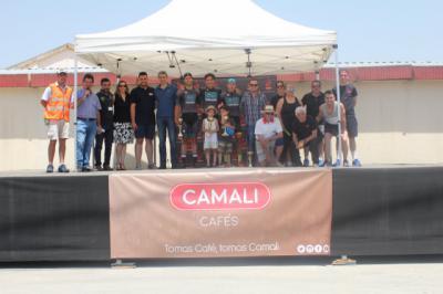 Éxito del 'I Trofeo Cafés Camali- Campeonato Castilla-La Mancha Máster'
