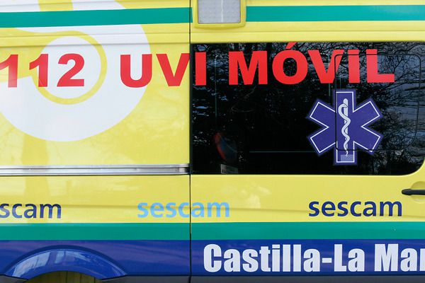 Cuatro heridos en una colisión entre siete vehículos