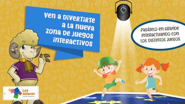 Los Alfares instala un proyector interactivo con juegos didácticos infantiles
