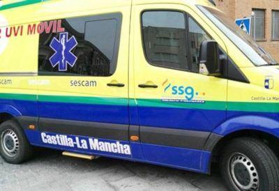 Trasladada al hospital de Toledo una mujer de 36 años tras ser atropellada por un coche