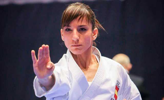 Quinto oro europeo para nuestra karateka Sandra Sánchez