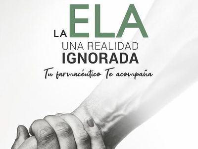 Las farmacias de CLM participan en una campaña de sensibilización sobre la ELA