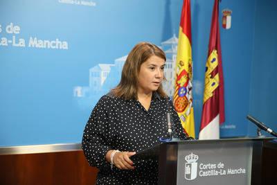 Intervención de la consejera de Fomento, Agustina García