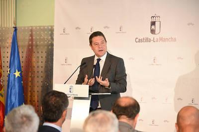 García-Page durante la inauguración del curso escolar en CLM
