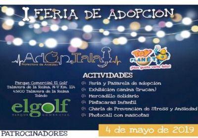 Talavera celebra la 'I Feria de Adopción Animal'