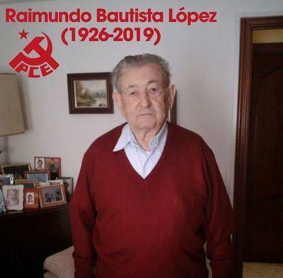 Fallece Raimundo Bautista, histórico fundador del PCE y abuelo del piloto Álvaro Bautista