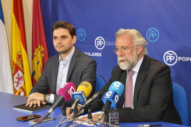 Jaime Ramos (d) y Santiago Serrano (i)