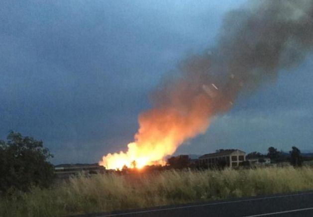 Extinguido el incendio declarado en Talavera La Nueva