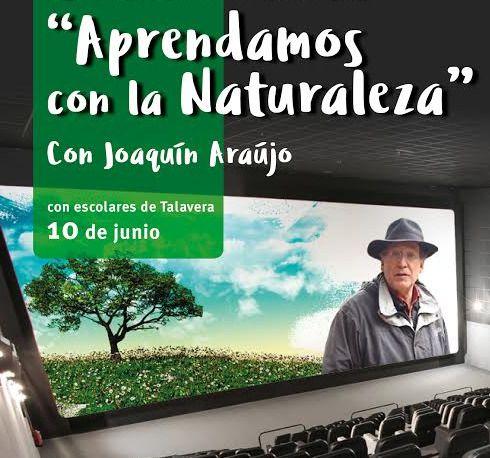 Más de 100 escolares asistirán a la conferencia del naturalista Joaquín Araújo en Los Alfares