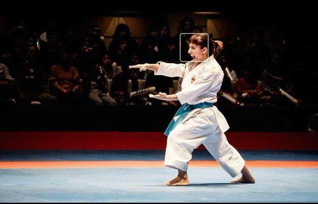 Sandra Sánchez gana una nueva medalla de oro