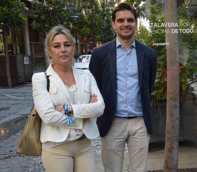 Sonia Serrano y Santiago Serrano
