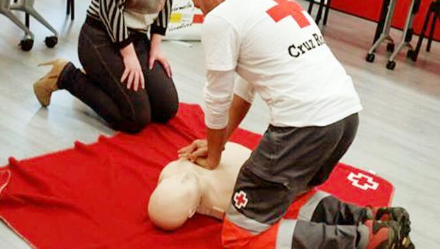 Diputación y Cruz Roja han formado a más de 1.000 personas en primeros auxilios